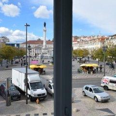 Отель Rossio Apartments Португалия, Лиссабон - отзывы, цены и фото номеров - забронировать отель Rossio Apartments онлайн балкон