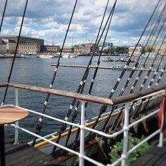 Stf Stockholm/af Chapman & Skeppsholmen Hostel Стокгольм приотельная территория фото 2