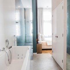 Hotel De Hallen ванная фото 2