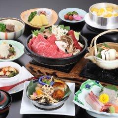 Отель Kyukamura Ohmi-Hachiman Омихатиман питание