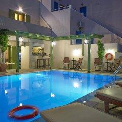 Отель Studios Marios Греция, Остров Санторини - отзывы, цены и фото номеров - забронировать отель Studios Marios онлайн бассейн фото 2