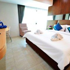 Отель Golden Dragon Beach Pattaya Таиланд, Бангламунг - отзывы, цены и фото номеров - забронировать отель Golden Dragon Beach Pattaya онлайн комната для гостей фото 3