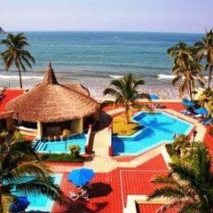 Acqua Grand Hotel пляж