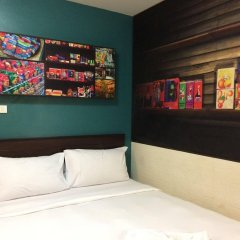 Отель Rikka Inn Бангкок комната для гостей фото 2