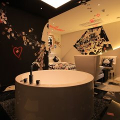 Отель The Designers Jongno Южная Корея, Сеул - отзывы, цены и фото номеров - забронировать отель The Designers Jongno онлайн ванная фото 2