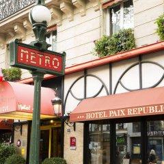 Отель The Originals Hotels Paris Paix République Париж фото 3
