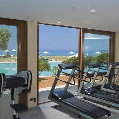 Отель Kernos Beach фитнесс-зал