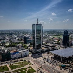 Warsaw Marriott Hotel пляж