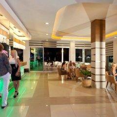 Club Mermaid Village Турция, Аланья - 1 отзыв об отеле, цены и фото номеров - забронировать отель Club Mermaid Village - All Inclusive онлайн интерьер отеля фото 2