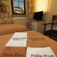 Pasha Port Hotel & Restaurant Чешме в номере