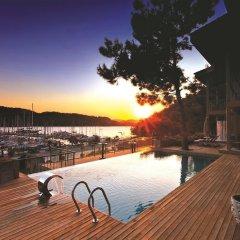Marti Hemithea Hotel Турция, Кумлюбюк - отзывы, цены и фото номеров - забронировать отель Marti Hemithea Hotel онлайн бассейн фото 3