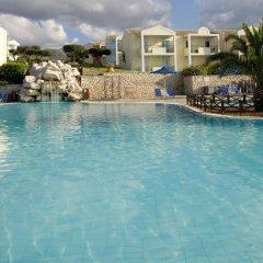Отель Mareblue Beach Корфу бассейн