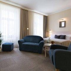 Отель Unitas Hotel Чехия, Прага - 9 отзывов об отеле, цены и фото номеров - забронировать отель Unitas Hotel онлайн комната для гостей фото 4