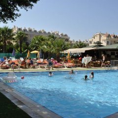 Club Dena Apartments Турция, Мармарис - отзывы, цены и фото номеров - забронировать отель Club Dena Apartments онлайн бассейн фото 3