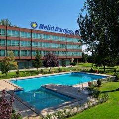 Отель Meliá Barajas Испания, Мадрид - отзывы, цены и фото номеров - забронировать отель Meliá Barajas онлайн бассейн фото 2