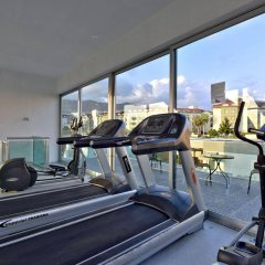 Отель Green Garden Suite фитнесс-зал