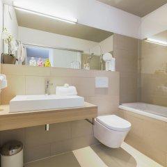 Отель Room 5 Apartments Австрия, Зальцбург - отзывы, цены и фото номеров - забронировать отель Room 5 Apartments онлайн ванная