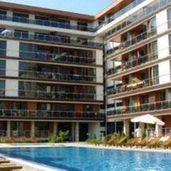 Отель Pomorie Bay Apartments and Spa Болгария, Поморие - отзывы, цены и фото номеров - забронировать отель Pomorie Bay Apartments and Spa онлайн бассейн фото 2