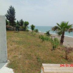 Отель Mavi Cennet Camping Pansiyon Сиде пляж