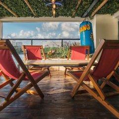 Отель Señor Frogs Hostel - Adults Only Мексика, Канкун - отзывы, цены и фото номеров - забронировать отель Señor Frogs Hostel - Adults Only онлайн балкон