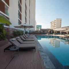 Отель Barcelo Anfa Casablanca Марокко, Касабланка - отзывы, цены и фото номеров - забронировать отель Barcelo Anfa Casablanca онлайн бассейн фото 3