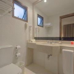 Отель Estanplaza Paulista Бразилия, Сан-Паулу - отзывы, цены и фото номеров - забронировать отель Estanplaza Paulista онлайн ванная фото 2