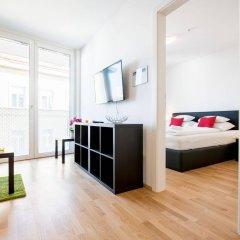 Отель Duschel Apartments Wien-Hauptbahnhof Австрия, Вена - отзывы, цены и фото номеров - забронировать отель Duschel Apartments Wien-Hauptbahnhof онлайн комната для гостей фото 2