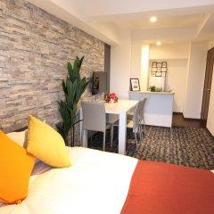 Residence Hotel Hakata 14 Фукуока комната для гостей