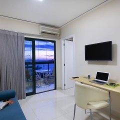 Отель Bourbon Vitoria Hotel (Residence) Бразилия, Витория - отзывы, цены и фото номеров - забронировать отель Bourbon Vitoria Hotel (Residence) онлайн комната для гостей фото 3