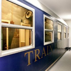 Отель Train Cabin Hostel Бельгия, Брюссель - отзывы, цены и фото номеров - забронировать отель Train Cabin Hostel онлайн интерьер отеля фото 2