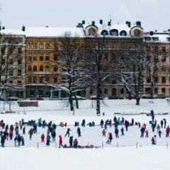 Hostel Dalagatan Стокгольм спортивное сооружение