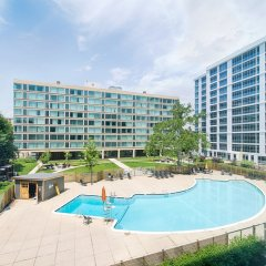 Апартаменты The View Apartment бассейн