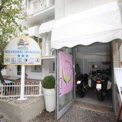 Hotel Belvedere Spiaggia Римини парковка