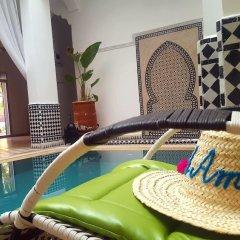 Отель Riad Amlal Марокко, Уарзазат - отзывы, цены и фото номеров - забронировать отель Riad Amlal онлайн бассейн