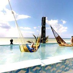 Отель Villas Tiburon by The Beach бассейн