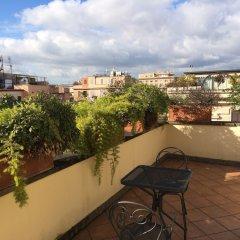 Отель Principe Di Piemonte Рим балкон