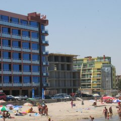 Hotel Sunny Bay Поморие пляж