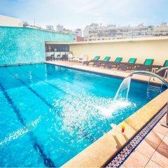 Отель Idou Anfa Hotel Марокко, Касабланка - отзывы, цены и фото номеров - забронировать отель Idou Anfa Hotel онлайн бассейн фото 2