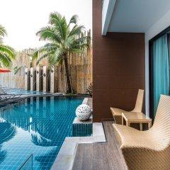 Отель The Beach Heights Resort Таиланд, Пхукет - 7 отзывов об отеле, цены и фото номеров - забронировать отель The Beach Heights Resort онлайн балкон