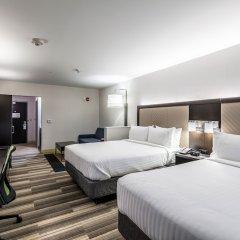 Отель Holiday Inn Express & Suites Jersey City North - Hoboken, an IHG Hotel США, Джерси - отзывы, цены и фото номеров - забронировать отель Holiday Inn Express & Suites Jersey City North - Hoboken, an IHG Hotel онлайн комната для гостей фото 2
