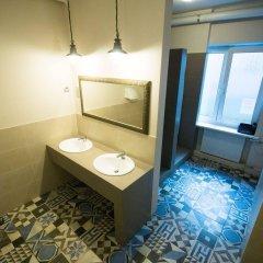 Отель Hostel Helvetia Польша, Варшава - 1 отзыв об отеле, цены и фото номеров - забронировать отель Hostel Helvetia онлайн ванная фото 3