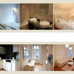 Апартаменты Kunsthaus Apartments Вена гостиничный бар