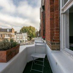 Отель 1 Bedroom Apartment in Brook Green Великобритания, Лондон - отзывы, цены и фото номеров - забронировать отель 1 Bedroom Apartment in Brook Green онлайн балкон