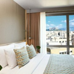 Отель Wyndham Grand Athens Греция, Афины - 1 отзыв об отеле, цены и фото номеров - забронировать отель Wyndham Grand Athens онлайн комната для гостей фото 3