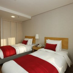 Отель Ramada by Wyndham Seoul Dongdaemun Сеул комната для гостей фото 5