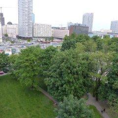 Отель Hosapartments City Center Польша, Варшава - 2 отзыва об отеле, цены и фото номеров - забронировать отель Hosapartments City Center онлайн балкон