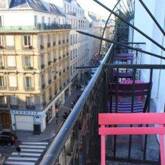 Отель Smart Place Paris Gare du Nord by Hiphophostels балкон