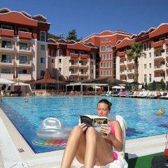 Club Aida Apartments Турция, Мармарис - отзывы, цены и фото номеров - забронировать отель Club Aida Apartments онлайн бассейн фото 2