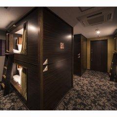 Cabin Hotel Hakata Хаката интерьер отеля фото 2