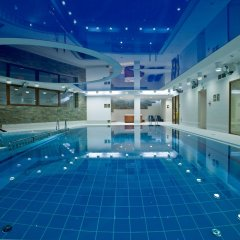 Отель Crocus Польша, Закопане - отзывы, цены и фото номеров - забронировать отель Crocus онлайн бассейн фото 3